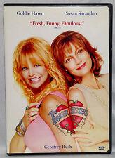 The Banger Sisters (DVD, 2002) Widescreen, Goldie Hawn, Susan Sarandon, Geo.Rush