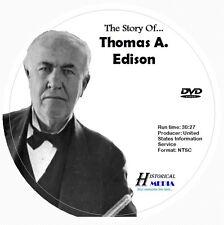 THE STORY OF THOMAS A. EDISON (DVD) (NTSC)