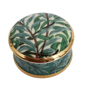 Museum Collection William Morris Willow Bough Porcelain Trinket Box