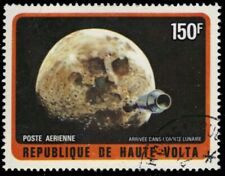 "UPPER VOLTA C138 - Exploration of the Moon ""Apollo Capsule"" (pb13975)"