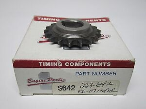 86-07 Mopar Jeep 2.4L 2.5L Crankshaft Gear Sprocket NORS 223-642