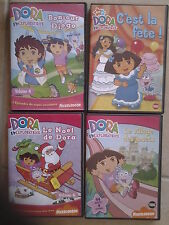 11101//LOT 4 DVD DORA L'EXPLORATRICE EN TBE