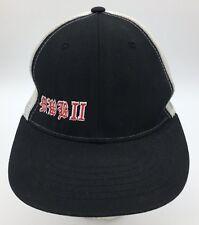 MWB II Gothic Font Embroidered Black Snapback Trucker Hat
