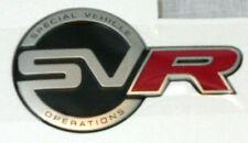 Range Rover Sport 2016 OEM L494 Special Vehicle Operations SVR Tailgate Badge