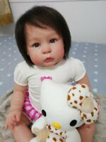 """B802 Lovely Reborn Baby Girl Doll 22"""" Child Friendly Tailor Made / Available now"""