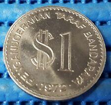 1973 Malaysia $1 Ringgit Kuala Lumpur City Commemorative Cupro-Nickel Coin