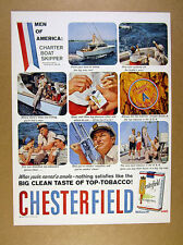 1958 Palm Beach fl Charter Boat Skipper photos Chesterfield vintage print Ad