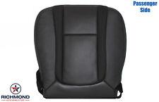 2010-2014 Ford F-150 Raptor SVT - Passenger Side Bottom Leather Seat Cover Black