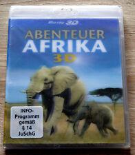 Abenteuer Afrika 3D (2011) NEU !!! Blu-ray, David Keane, 3D-Safari
