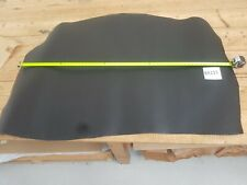 Black Pigmented Veg Tan Cow Shoulder Leather 1.8mm Thick Good Quality EB223