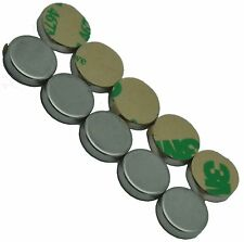 """1/2"""" x 1/8"""" Disc Magnets - Adhesive Backed - Neodymium Rare Earth Magnet,"""