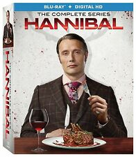 Hannibal: Season 1-3 + The Hannibal Lecter Trilogy + Hannibal RISING [Blu-ray]