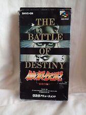 Fatal Fury The Battle of Destiny (Super Famicom) Box & game Rare/HTF Fighter
