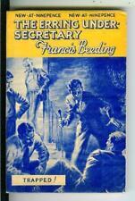 ERRING UNDER-SECRETARY by Beeding, British H&S crime digest vintage pb HEADE art