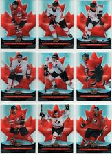 2009/10 McDONALDS PRIDE OF CANADA COMPLETE INSERT SET OF 14