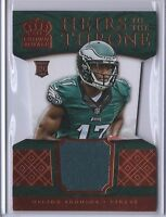 2015 Crown Royale Nelson Agholor Eagles Heirs to the Throne Materials Bronze /99