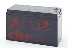 "BB Battery BP7-12 Replacement Unit - CSB 12v 7.2Ah SLA GP1272 F2/0.25"" Terminals"