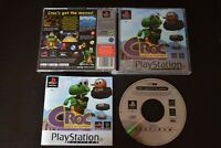 Croc Legend Of The Gobbos PlayStation One PS1 Good Condition Manual Incl UK PAL