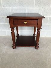 MARTHA STEWART FOR BERNHARDT CHERRY ACCENT TABLE - END TABLE