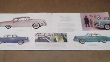 ★RARE-1955 DODGE CUSTOM-ROYAL-CORONET-WAGON ORIGINAL PRESTIGE DEALER BROCHURE-55