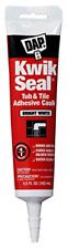 New ListingDap 18001 Kwik Seal Caulk with 5.5-Ounce Tube, White 3 Pack