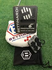 "Bettinardi Antidote Prototype Tour Depart VWS 35"" Putter+HC+Weight Kit NEVER HIT"