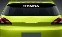 Rear Window Sticker Fits Honda Civic Accord Premium Qaulity Decals Graphics RL20