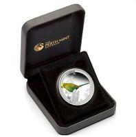 2013 BIRDS OF AUSTRALIA REGENT BUDGERIGAR 1/2oz Silver Proof Coin