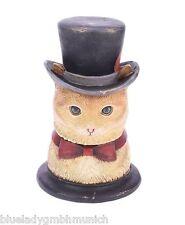Box Katze ✿ Kater ✿ Aufbewahrungsbox VTG JEWELRY BOX Boîte Bijoux