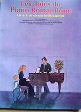 Recueil de partition les joies du piano romantique livre 1  64 titres  /E11