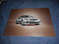 2008 Mercedes Benz CL Class USA Market Original Color Brochure Prospekt