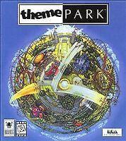 Theme Park PC CD-ROM Game 1999 EA Bullfrog Rollercoaster Tycoon SIM