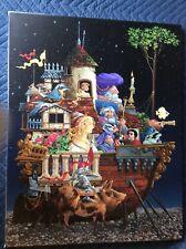 James Christensen INTERRUPTED VOYAGE unframed limited edition canvas SIGNED, #'d