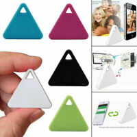 Triangle Mini Tracking Finder Device Bluetooth Pet Kids Locator Tracker Keychain