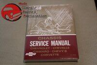 68 Chevy Chevelle Impala Camaro Nova Corvette Chassis Service Manual