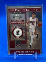 Tyler Herro 2019-20 Contenders Optic RC Rookie Season Ticket Card #125 Heat