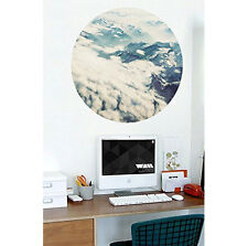 'High Altitude' Woven Polyester 47x47cm Wall Canvas Poster Picture Self Adhesive