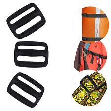 25mm Triglide Plastic Buckle 3 Bar Slider For Webbing Bag Belts Strap Backpack