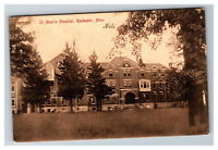 Vintage View of St. Mary's Hospital, Rochester MN Early 1900's Postcard