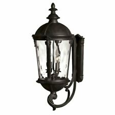 Hinkley Lighting Windsor 4 Light Outdoor Large Wall Mount, Black - 1895Bk