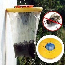 2 X Rojo Drosophila Mosca Trampa lo último en la parte superior catcher Mosca Insecto Bug Asesino Avispa