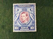 Kenya, Uganda & Tanganyika 10/- Mint  Perforation 131/4 SG 149 c/v £140 In 2016