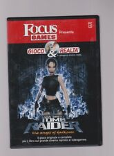 VIDEOGIOCO TOMB RAIDER the angel of darkness lara croft PER PC FOCUS