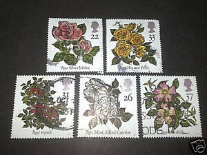 QE11 1991  FINE USED WORLD CONGRESS OF ROSES WHOLE SET