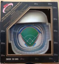 RARE Topps 1991 Special Stadium 200 Card Set In Unique Skydome Display Box