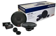 """Alpine SPR-60C 6.5"""" Component Car Speaker/ 6-1/2-inch Car Audio Speaker Type R"""