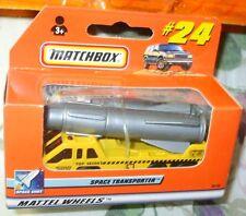 2000 MATCHBOX #24 YELLOW GRAY ROCKET SPACE TRANSPORTER WINDOW BOX 1:64 4+Boys