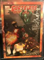 Dan Abnett Andy Lanning Dual Auto Cover Comic 2014 GUARDIANS OF THE GALAXY B14