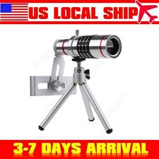 18x Optical Zoom Telescope Camera Lens Kit Tripod For Mobile Phone Iphone 6