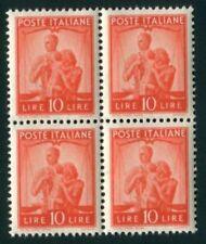 Francobolli della Repubblica italiana fino al 1948 blocco